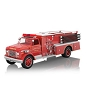 2014 Fire Brigade #12 1971 GMC Hallmark Christmas Ornament
