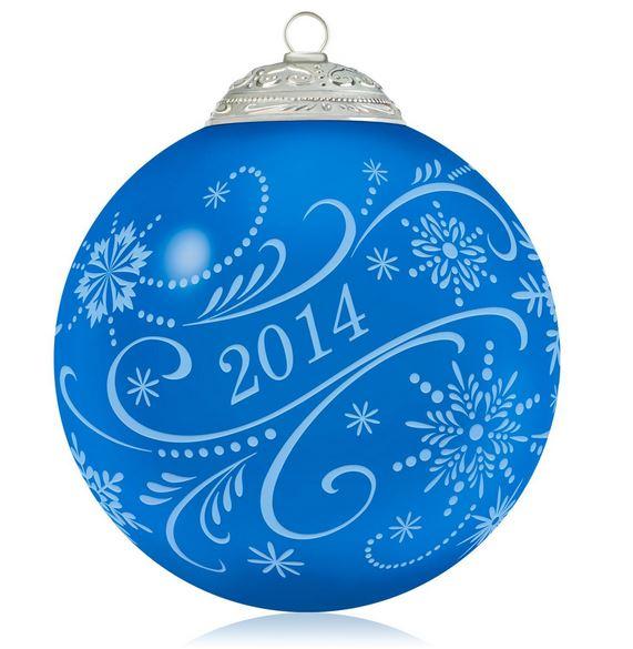 2014 Christmas Commemorative Ball Hallmark Keepsake ...