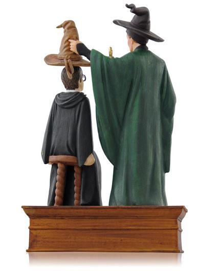 Harry Potter Christmas Tree Topper: 2014 Harry Potter, The Sorting Hat Hallmark Ornament