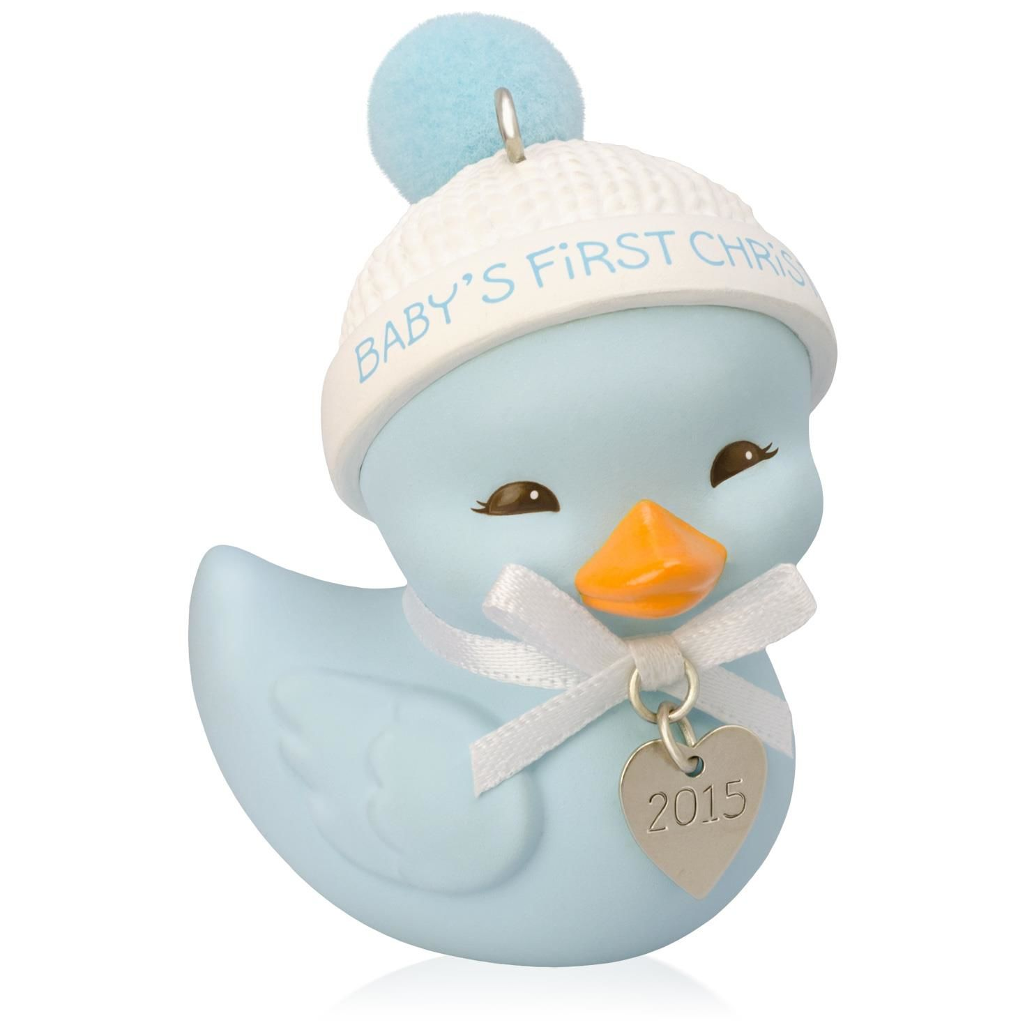 2015 baby boy 39 s first christmas hallmark keepsake ornament for Babys first christmas decoration