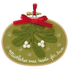 2015 Together Under the Mistletoe - Ships OCT 5Hallmark Christmas Ornament