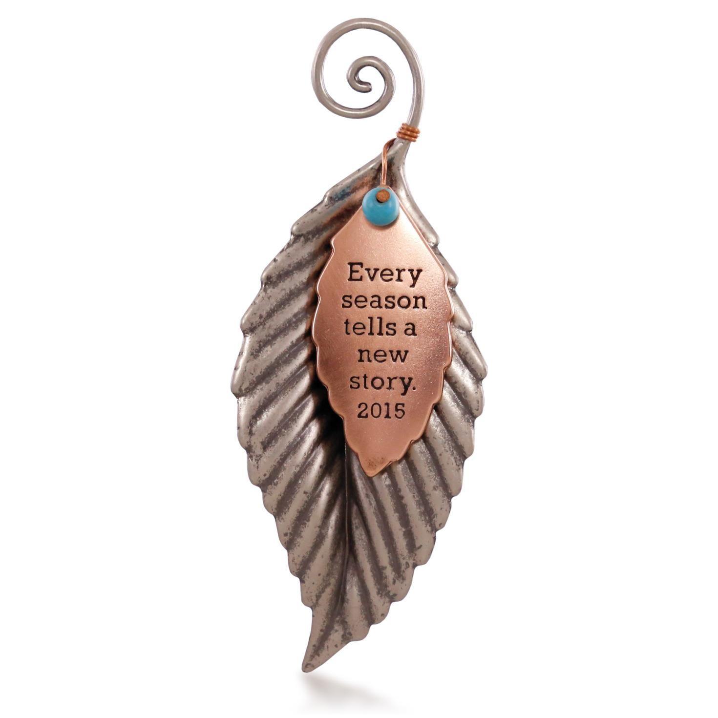 2015 A New Season  Hallmark Keepsake Celebrations At Hooked On Hallmark  Ornaments