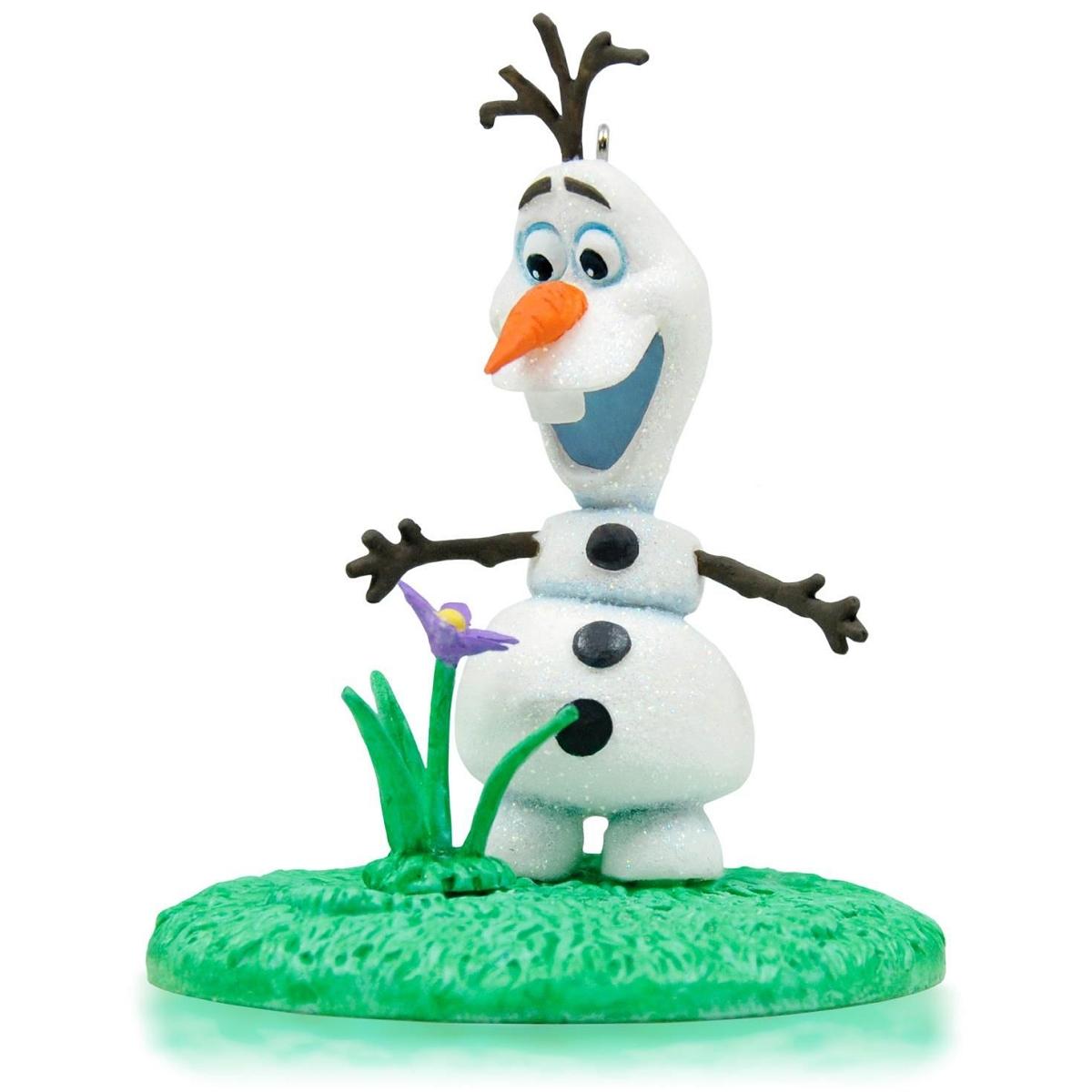 Disney frozen ornaments - 2015 Olaf In Summer Frozen Hallmark Keepsake Ornament Hooked On Hallmark Ornaments