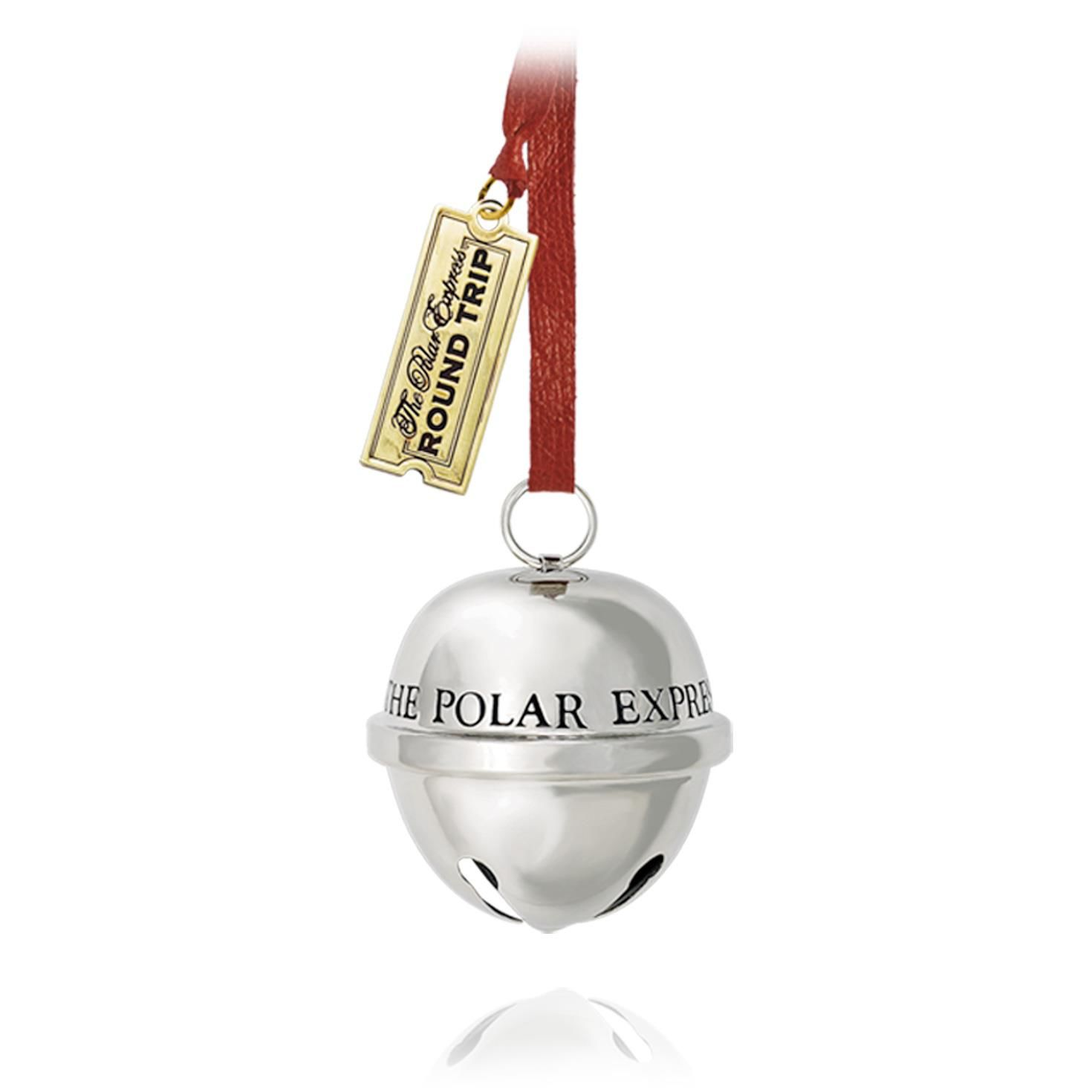 Polar express sleigh bell hallmark ornament hooked