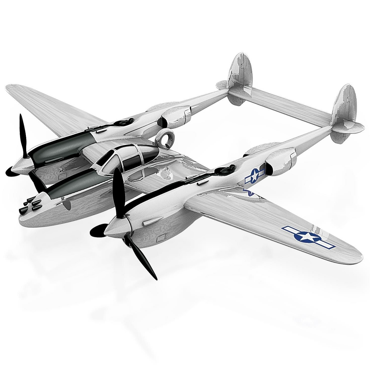 2015 lockheed p-38 lightning hallmark keepsake ornament