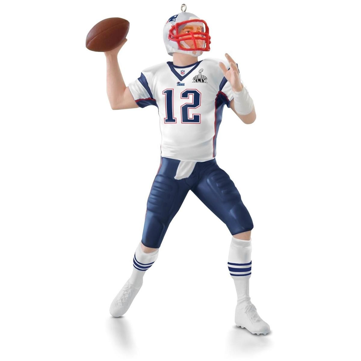 2015 Football Legends Tom Brady New England Patriots Hallmark ...