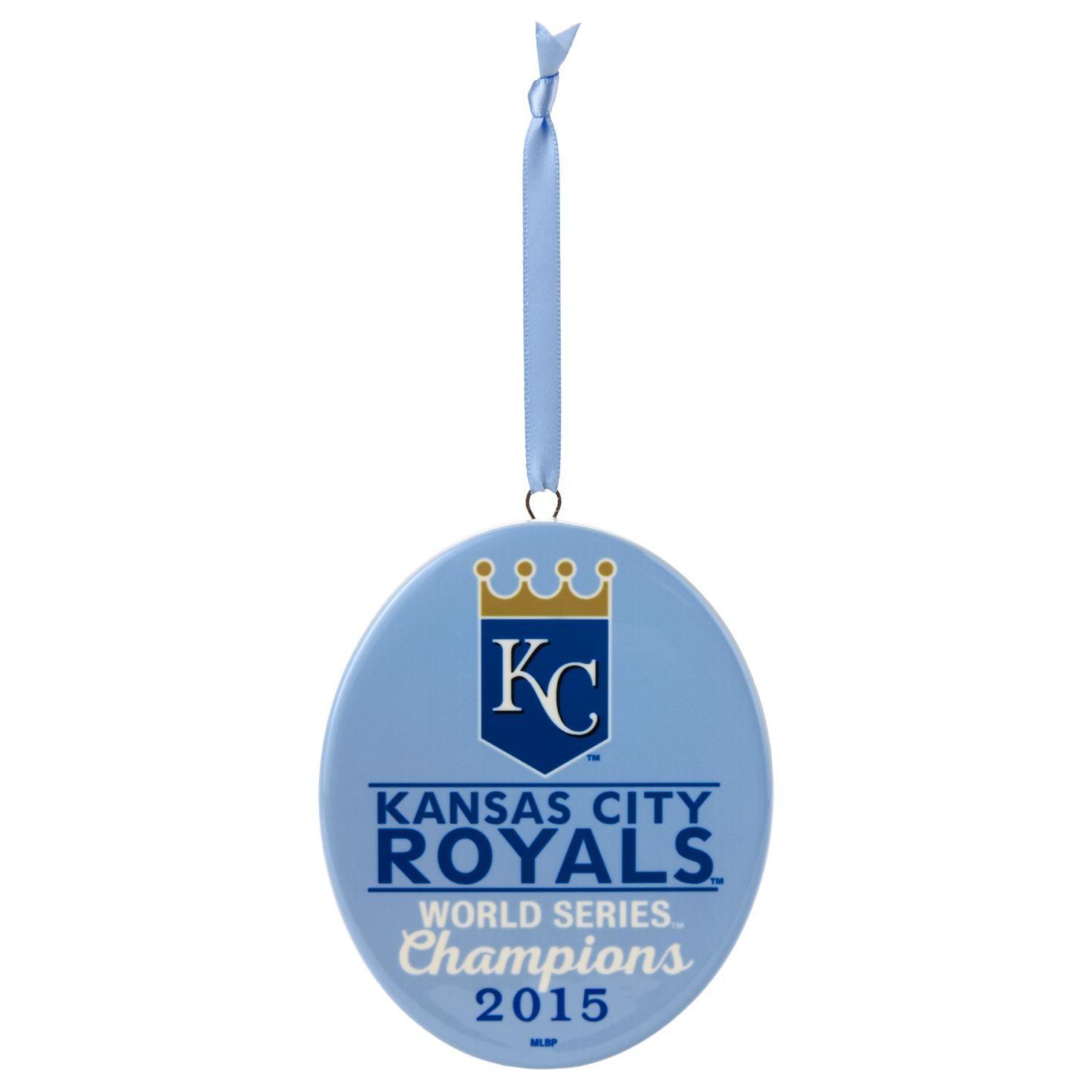 2015 2015 Kansas City Royals World Series Hallmark Keepsake ...