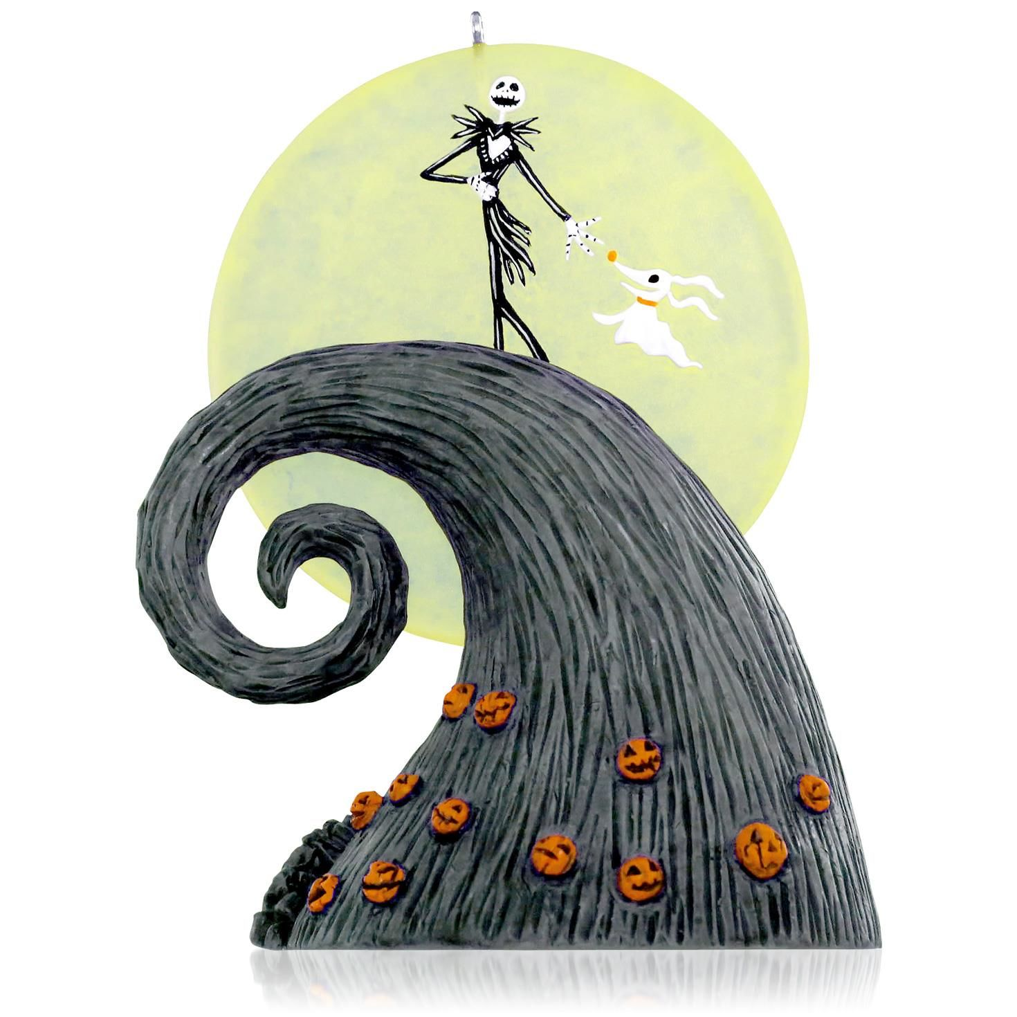 The nightmare before christmas ornaments - 2015 Here Comes The Pumpkin King Hallmark Ornament Hooked On Hallmark Ornaments