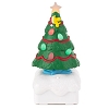 2015 Peanuts Gang Christmas Light Show - Woodstock Christmas Tree