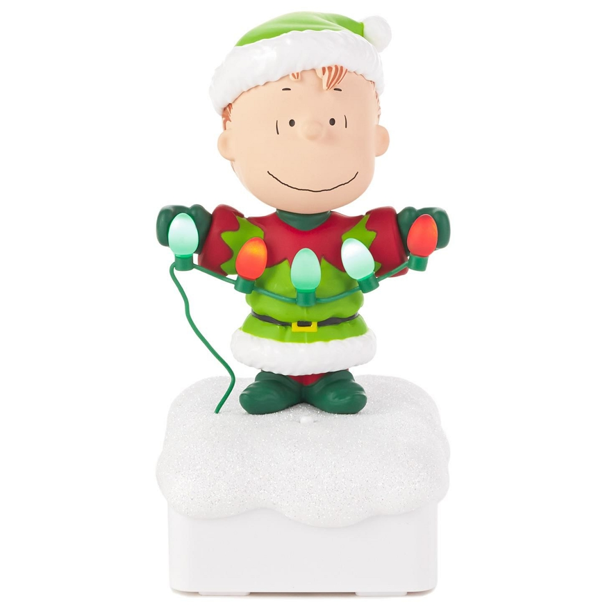 2015 Peanuts Gang Christmas Light Show - Hooked on Hallmark Ornaments