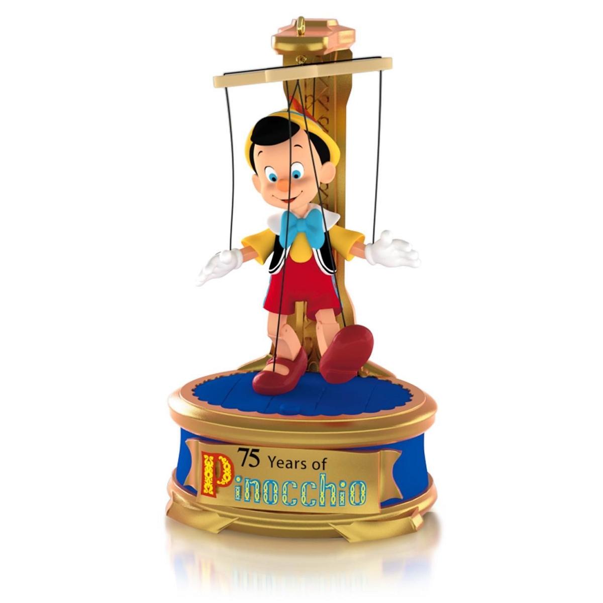 2015 Disney Pinocchio 75th Anniversary Hallmark Keepsake