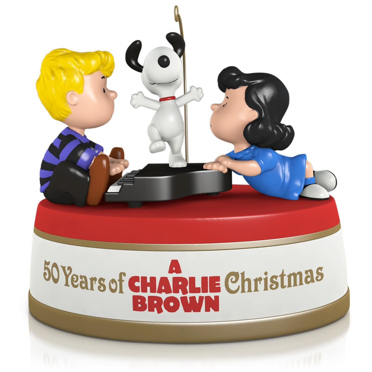 2015 50 Years Of A Charlie Brown Christmas Hallmark