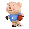 2015 Pig In Football Jersey MERRY MINIATURE