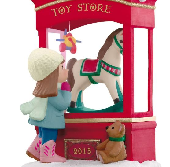 2015 Toy Store Dreams Hallmark Keepsake Ornament