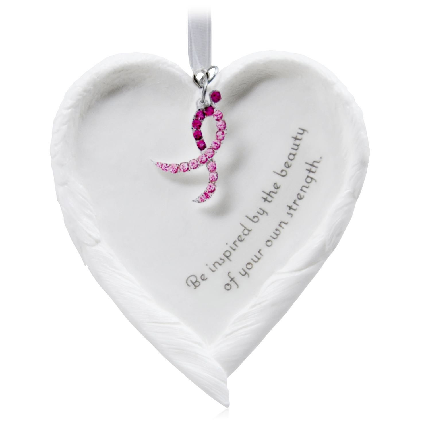 Breast cancer ornament - 2015 Beautiful You Susan Komen Hallmark Keepsake Ornament Hooked On Hallmark Ornaments