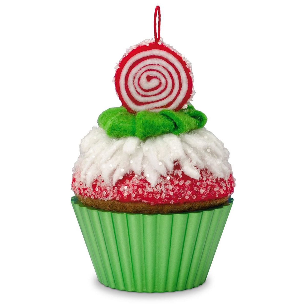 2016 christmas cupcake hallmark keepsake ornament hooked for Christmas decorations 2016