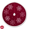 2017 Miniature Red Velvet Tree Skirt