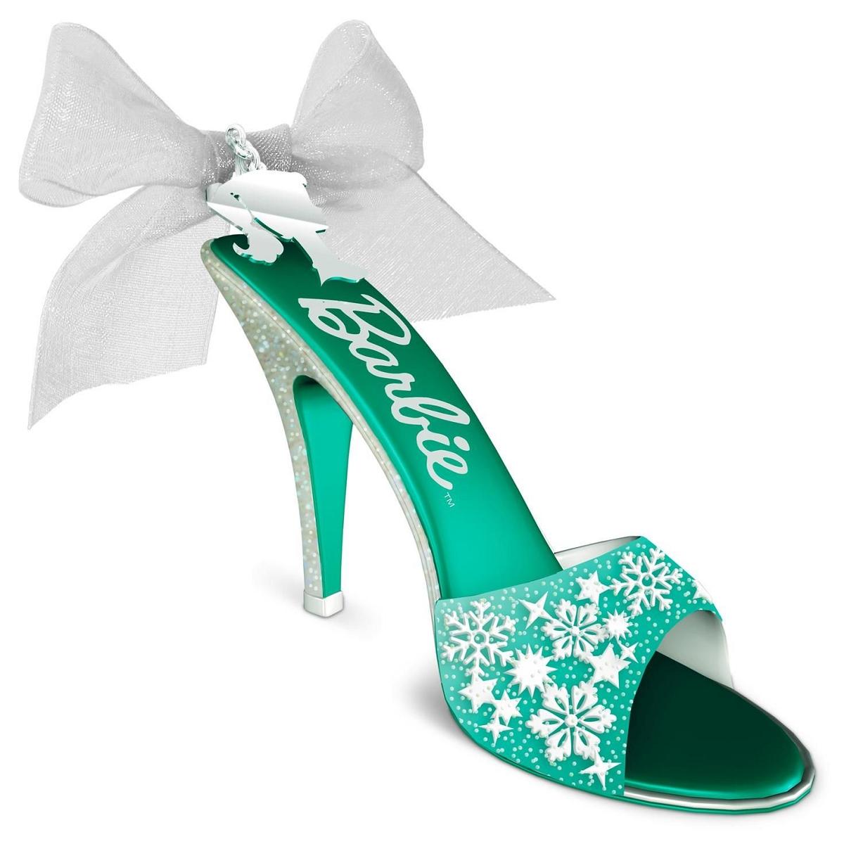 2016 Barbie Shoe Sational Hallmark Keepsake Ornament