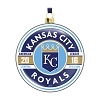 2016 MLB Kansas City Royals Glass Ornament