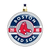 2016 MLB Boston Red Sox Glass Ornament