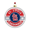 2016 MLB St Louis Cardinals Glass Ornament