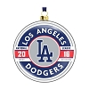2016 MLB Los Angeles Dodgers Glass Ornament