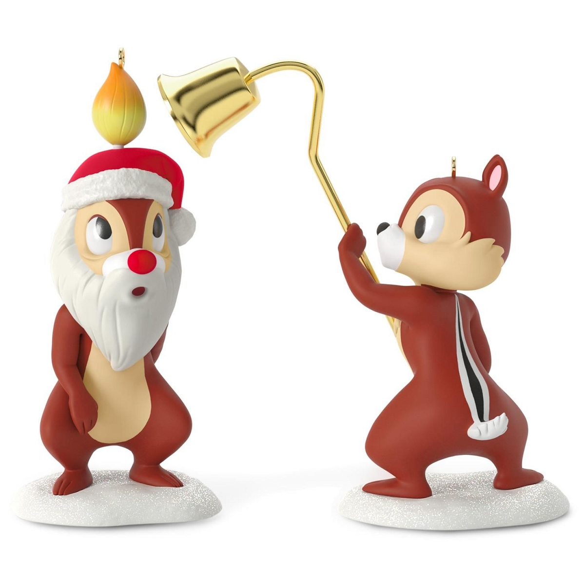 2016 Merry Pair Chip And Dale Hallmark Keepsake Ornament