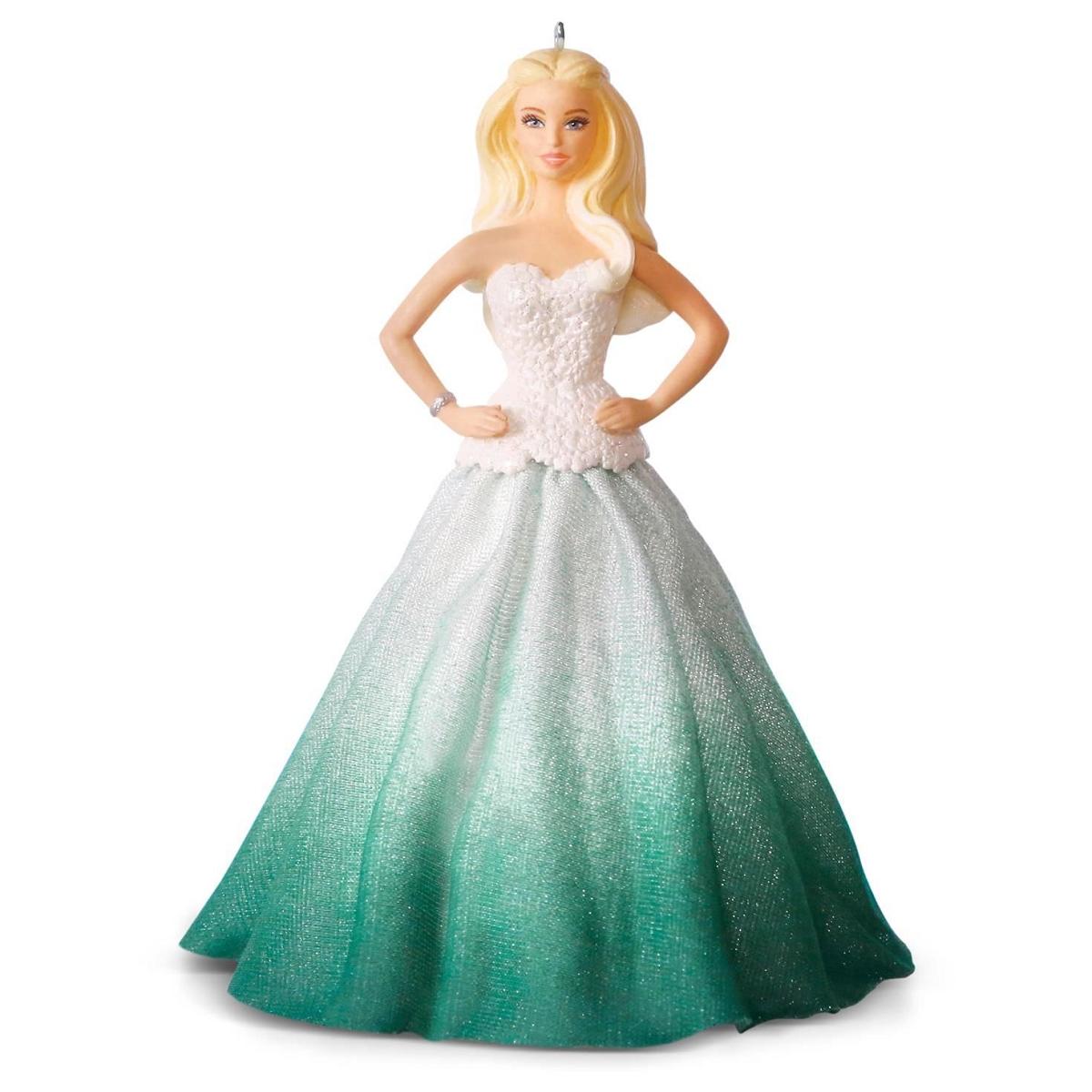 2016 Holiday Barbie Hallmark Keepsake Ornament Hooked On