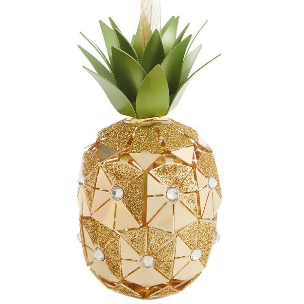 2016 Pineapple Signature Hallmark Ornament - Hooked on Hallmark ...