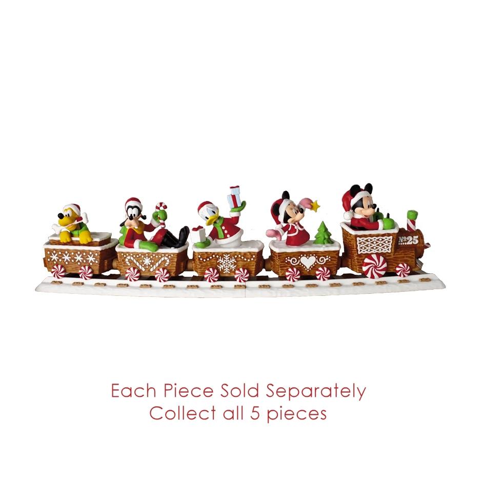 Tremendous 2016 Disney Christmas Train Hallmark Keepsake Ornament Hooked On Easy Diy Christmas Decorations Tissureus
