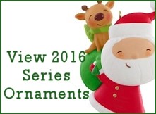 2016 Hallmark Series Ornaments