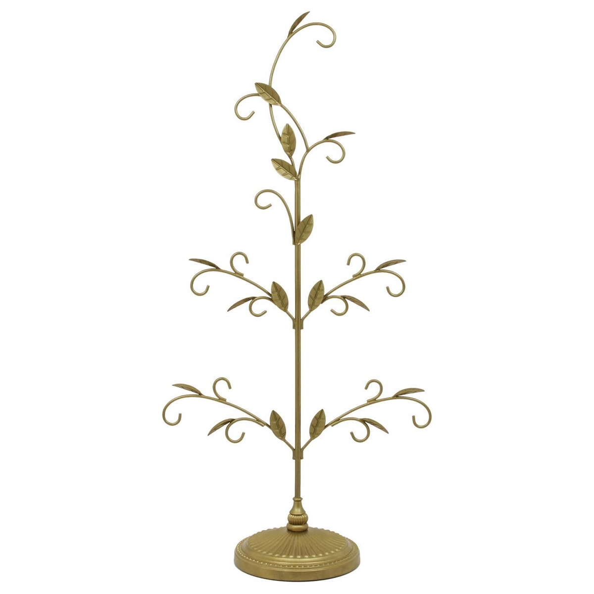 2016 gold miniature ornament tree