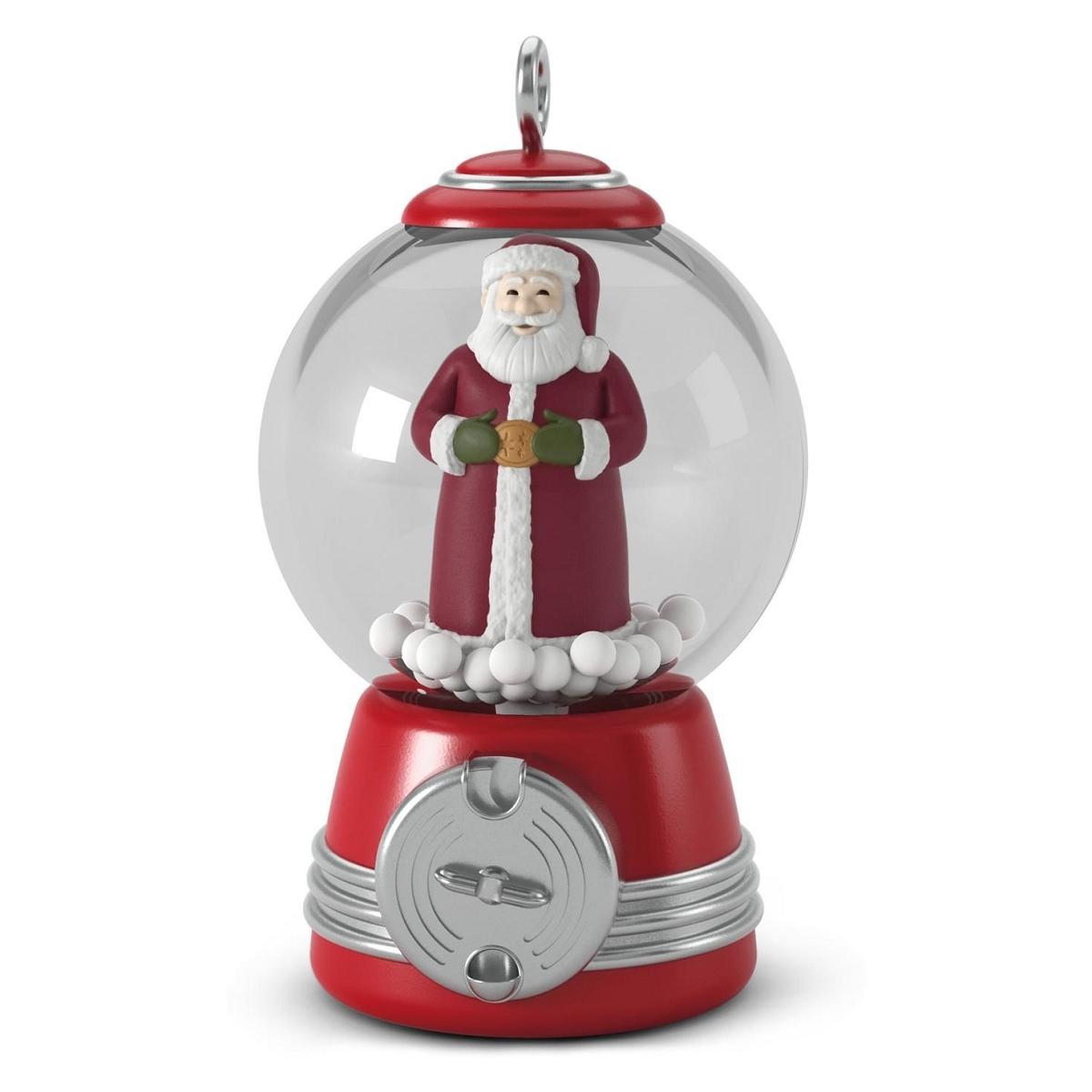 2016 gumball santa hallmark keepsake miniature ornament for Christmas ornaments sale