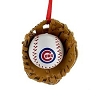 2017 Chicago Cubs Ball And Glove - by Kurt Adler