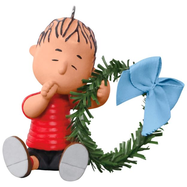 2017 peanuts comfy christmas for linus hallmark keepsake for Hallmark christmas in july 2017 schedule