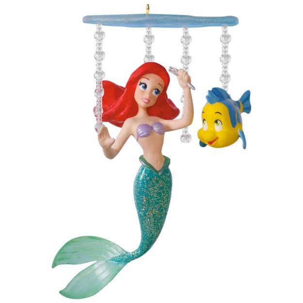 2017 ariel u0026 39 s world little mermaid hallmark keepsake