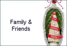2017 Family & Friends Hallmark Ornaments