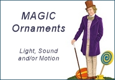 2017 Hallmark Magic Ornaments