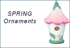 2017 Hallmark Easter/Spring Ornaments