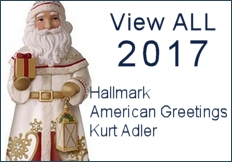 View ALL 2017 Ornaments- Hallmark, American Greetings, & More
