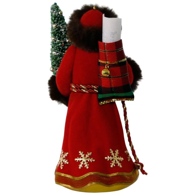 2017 father christmas hallmark premium ornament hooked for Hallmark christmas in july 2017 schedule
