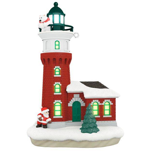 2017 holiday lighthouse hallmark christmas ornament for Hallmark christmas in july 2017 schedule