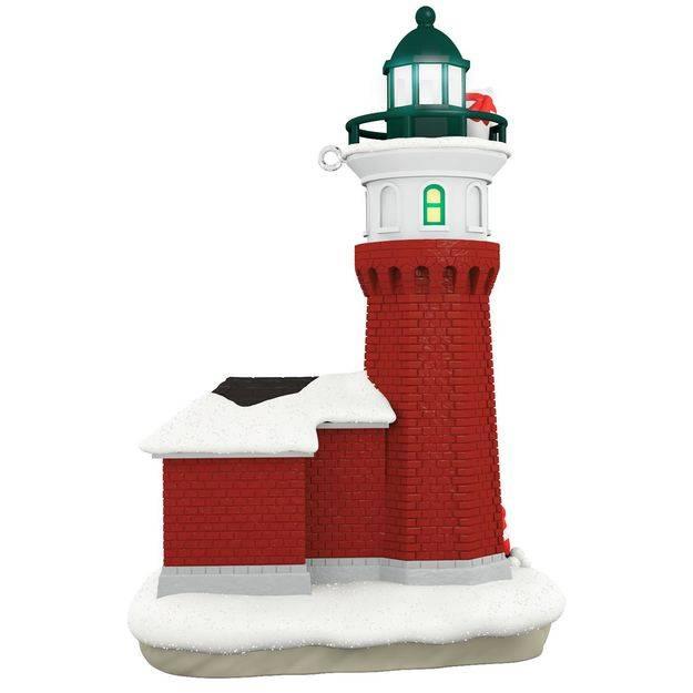 2017 holiday lighthouse hallmark christmas ornament. Black Bedroom Furniture Sets. Home Design Ideas