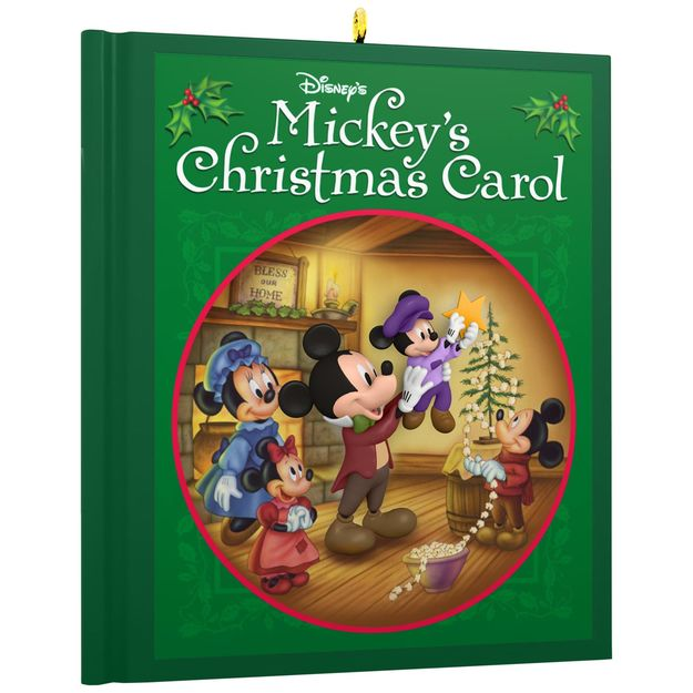 2017 mickey 39 s christmas carol hallmark disney ornament for Hallmark christmas in july 2017 schedule