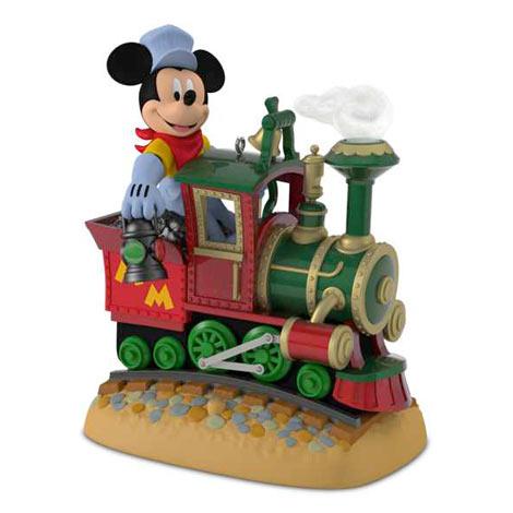 2017 Mickey S Magical Railroad Repaint Hallmark Disney