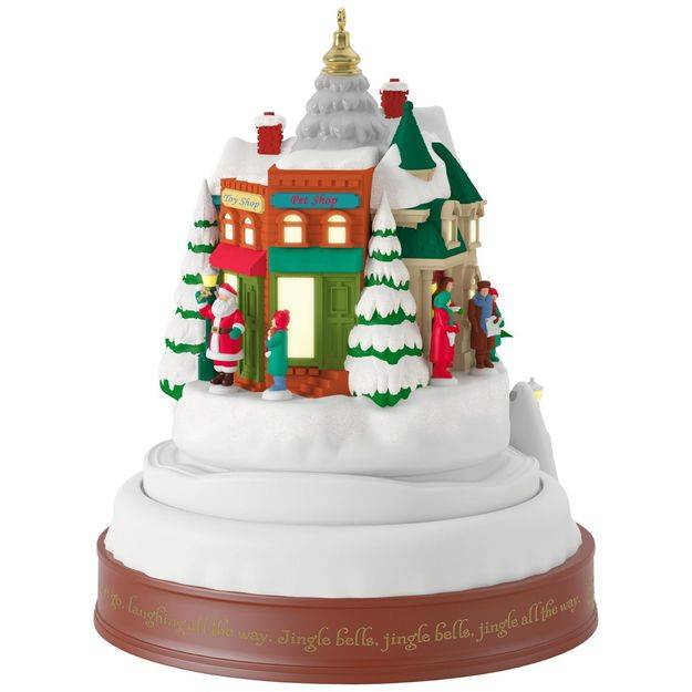 2017 jingle all the way hallmark magic ornament hooked - Ornament tapete weiay ...