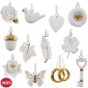 2017 Wedding Wishes Miniature Ornament Set