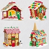 2018 Gingerbread Village Set/4 - Avail OCT