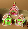 2014 Gingerbread House Ornaments, Set of 3 by SterlingHallmark Christmas Ornament