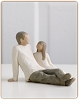 Willow Tree FATHER AND DAUGHTER - Figurine